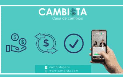 CAMBIO DE DOLARES Y SOLES EN CAMBISTA.COM
