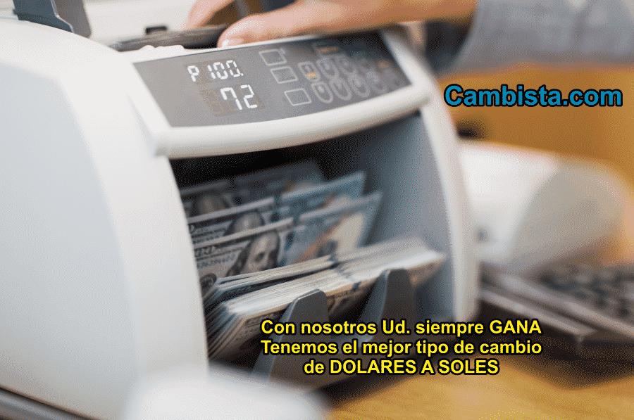 Tipo de Cambio del Dolar PERU
